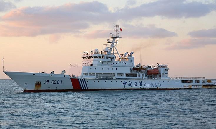 Trung Quốc đóng tàu hải tuần lớn nhất