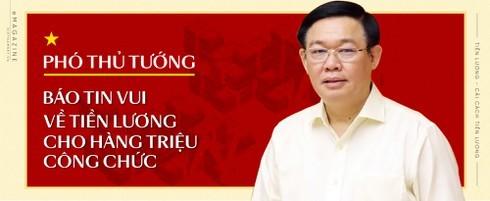 Phó Thủ tướng báo tin vui về lương cho hàng triệu công chức
