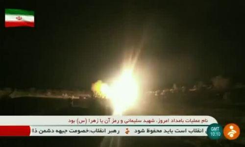 Iran tung video phóng tên lửa tới căn cứ đồn trú Mỹ