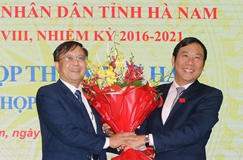 Hà Nam chính thức có tân Phó chủ tịch Nguyễn Đức Vượng