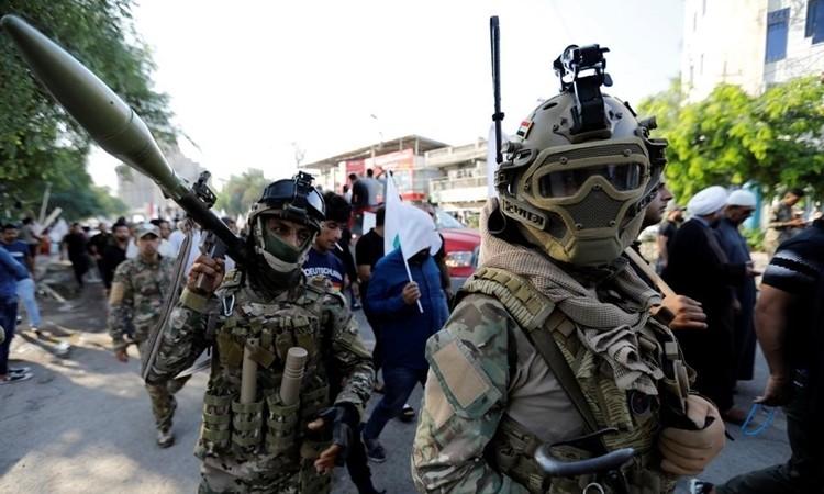 Dân quân Iraq bác tin bị không kích
