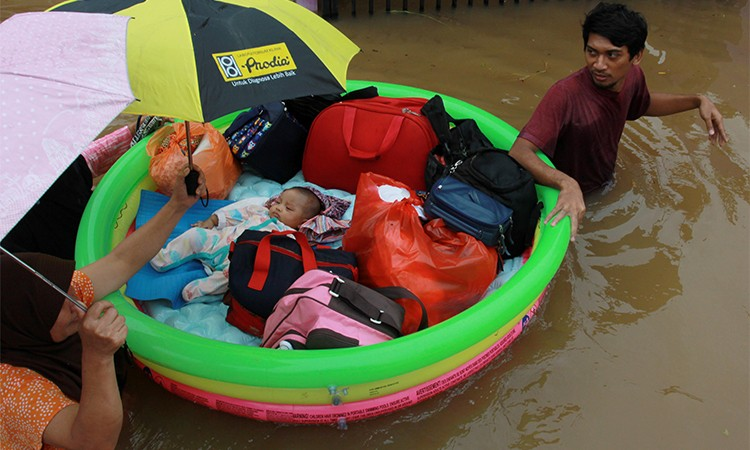 Jakarta ngập, 23 người chết