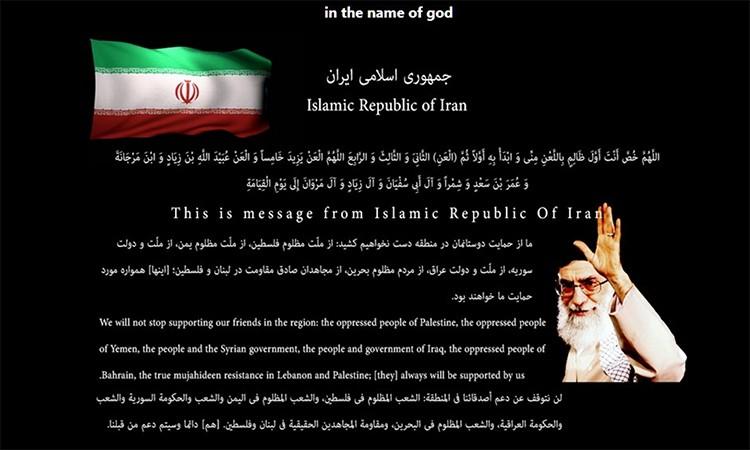 Tin tặc Iran tấn công website Mỹ
