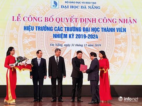 Đại học Đà Nẵng bổ nhiệm 03 Hiệu trưởng các trường thành viên