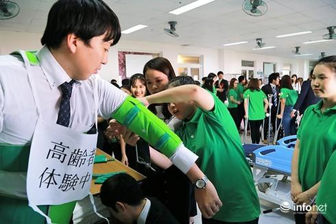 ĐH Đông Á khánh thành phòng thực hành điều dưỡng tiêu chuẩn Nhật Bản