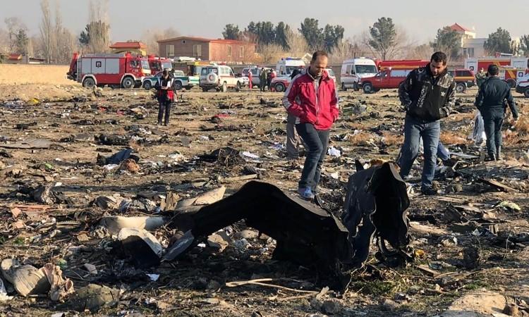Mỹ trao Ukraine 'dữ liệu quan trọng' vụ rơi máy bay