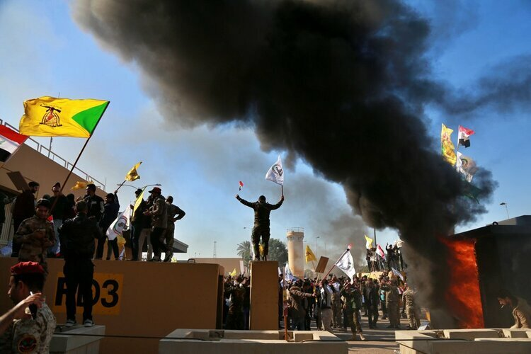 Trump tố Iran xúi giục bạo lực ở Iraq