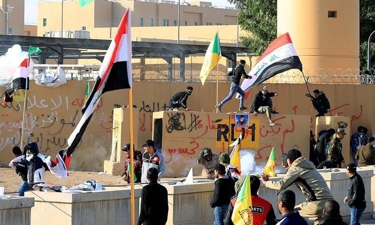 Người biểu tình Iraq rút khỏi sứ quán Mỹ