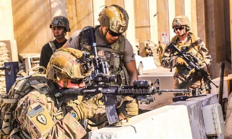 Mỹ báo động quân đội ở Trung Đông