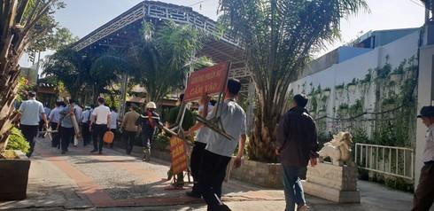 TP.HCM: Cưỡng chế Gia Trang quán - Tràm Chim Resort rộng hơn 2.000m2