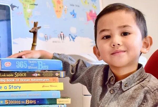 Cậu bé ba tuổi đạt 142 điểm IQ