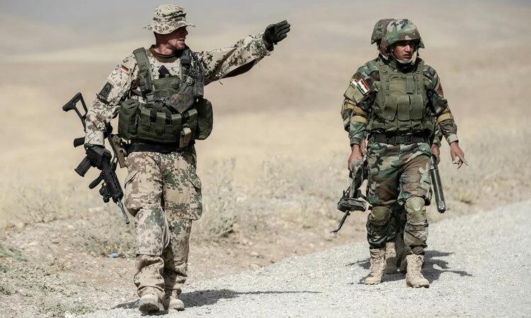 Đức rút bớt quân khỏi Iraq
