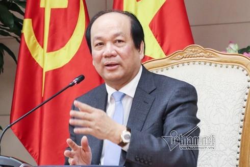 Bộ trưởng Mai Tiến Dũng: Chính phủ sau phải có trách nhiệm với Chính phủ trước