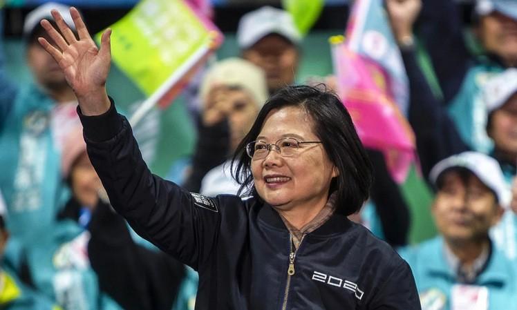 Lãnh đạo Đài Loan tái đắc cử