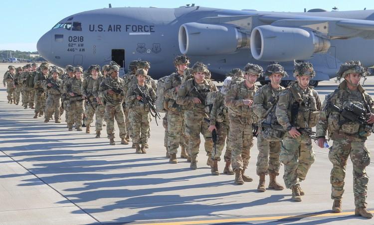 Mỹ điều gấp quân đến Trung Đông