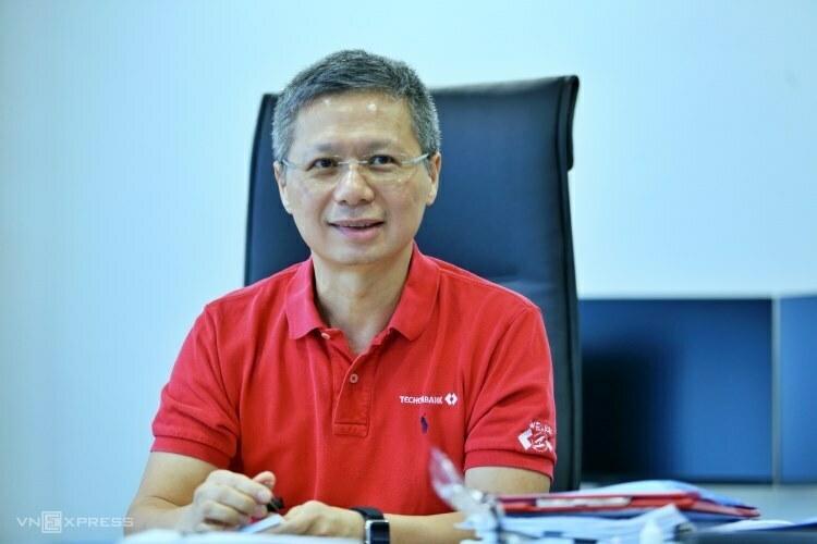 Ông Nguyễn Lê Quốc Anh sắp thôi làm CEO Techcombank