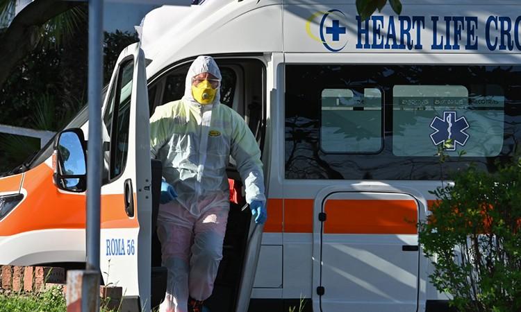 Hơn 3.000 ca nhiễm nCoV mới tại Italy