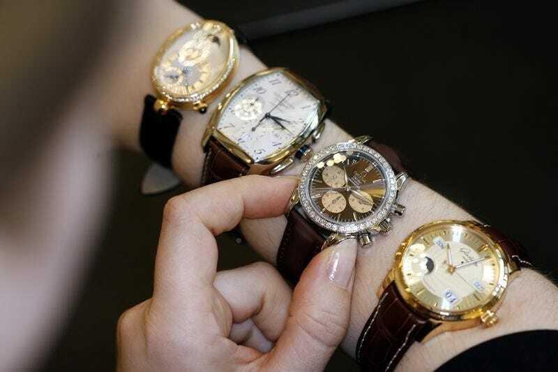 Đồng hồ Thụy Sĩ sắp có năm tệ nhất lịch sử