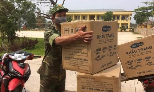 Chặn 95.000 khẩu trang y tế xuất lậu sang Lào