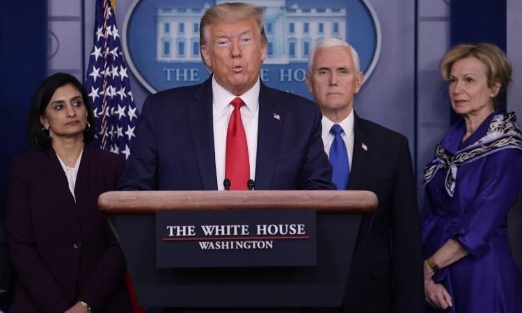 Trump cho phép miễn phí xét nghiệm nCoV
